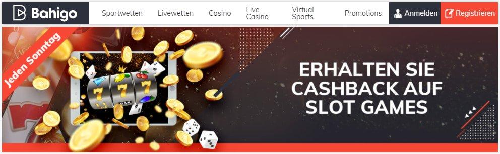 Bahigo Casino Slot-Cashback