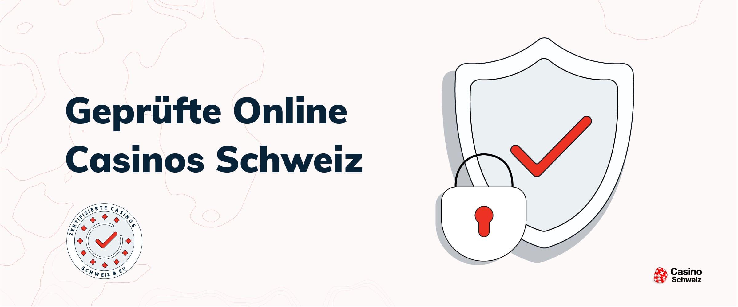 Geprüfte Online Casinos Banner