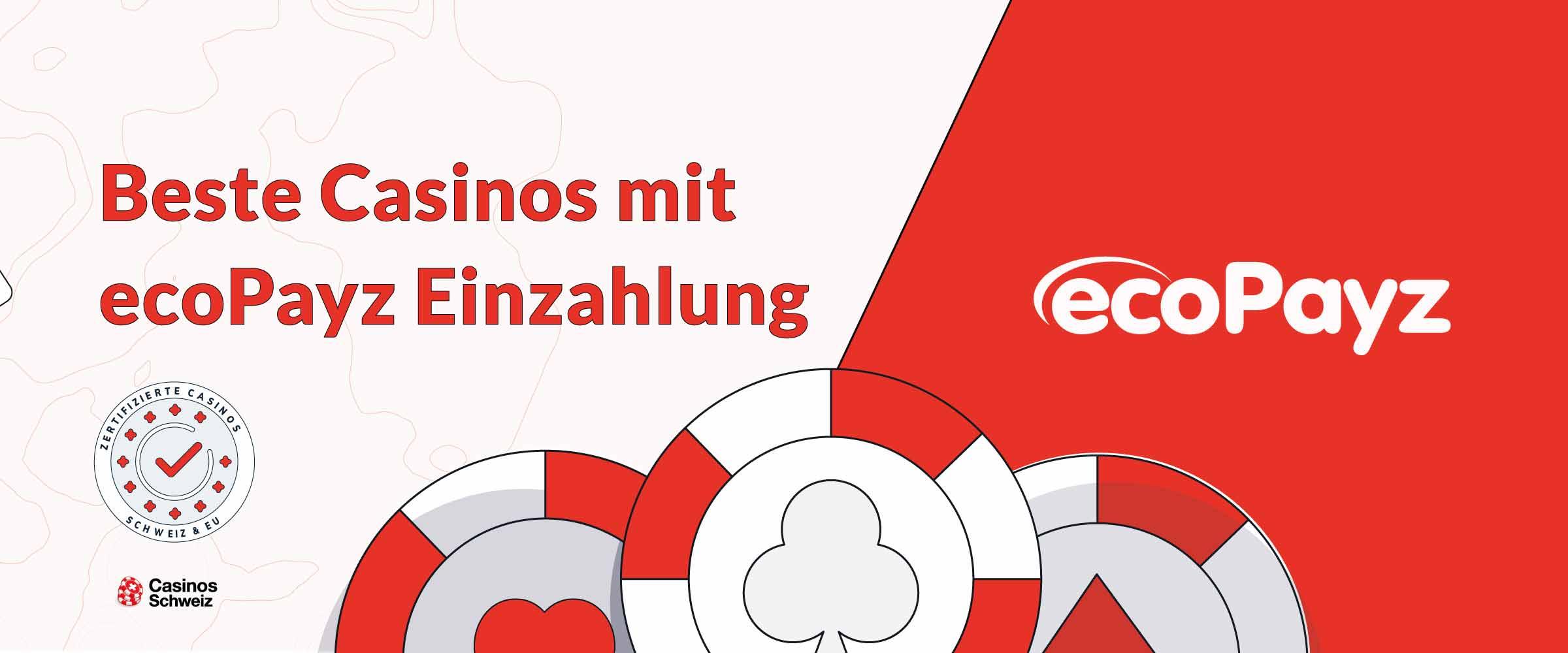 Beste Casinos mit ecoPayz-Einzahlung