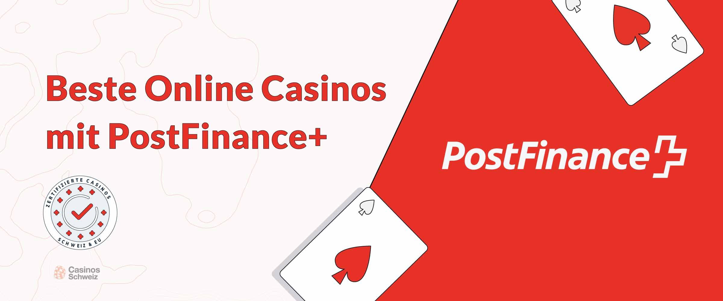 Beste Online-Casinos mit Postfinance
