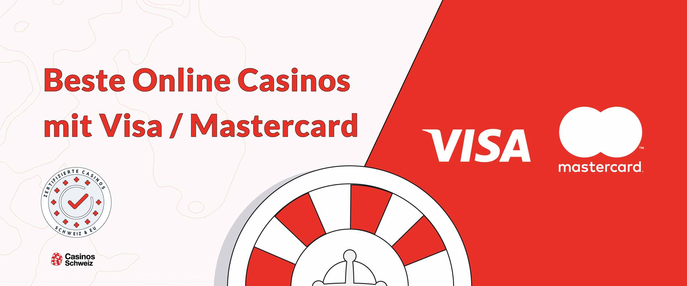 Beste Online-Casinos Schweit mit VISA Mastercard