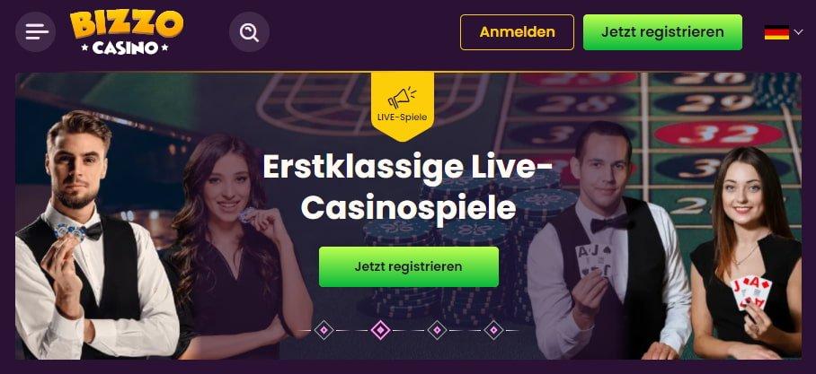Bizzo Casino Spiele
