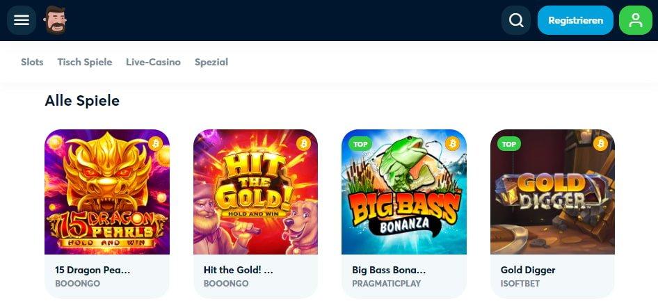 Goodmann Casino Spiele