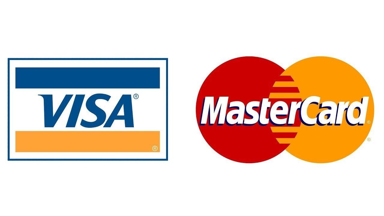 Mastercard Visa Kreditkarten Logo