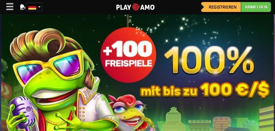 Playamo Casino Bonus für Neukunden