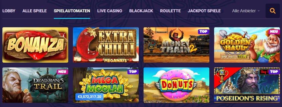 Samosa Casino Spiele