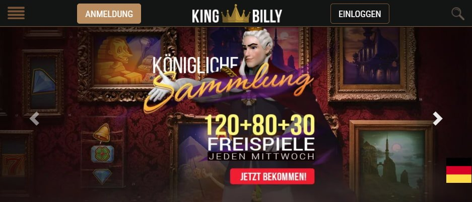 King Billy Casino Aktionen