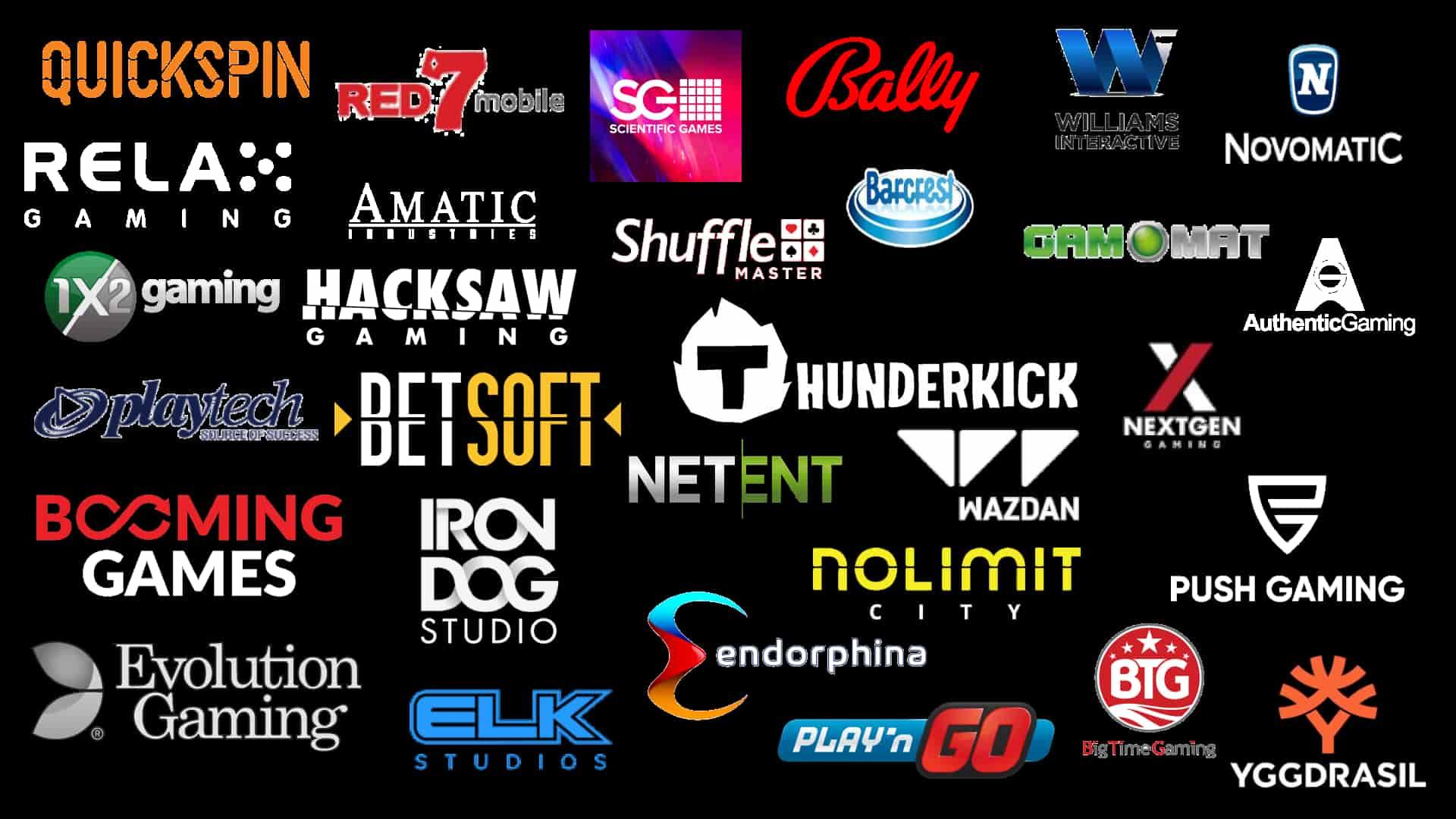 Slot Provider Logos